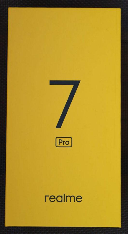 Realme 7 Pro коробка