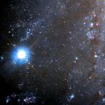 Хаббл засек взрывающуюся и быстро затухающую звезду