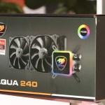 Cougar AQUA 240 – компактная СЖО с подсветкой RGB