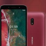 Nokia C1 Plus 4G – дешевый смартфон с 5,45″ HD+ и Android 10 Go