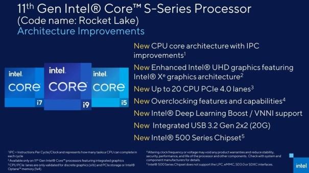Intel Core 11-го поколения