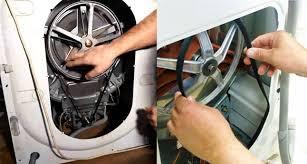 ремонт ремня стиральной машины