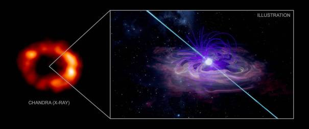 туманность пульсарного ветра
