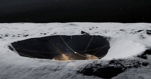 Иллюстрация марсоходов DuAxel на Луне