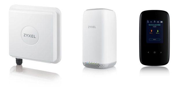 Zyxel представила LTE роутеры