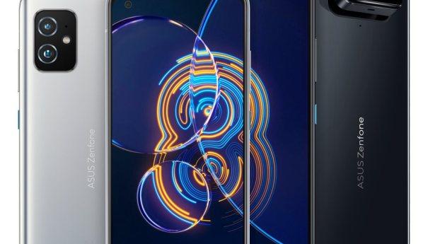 ASUS представил Zenfone 8 и Zenfone 8 Flip на Snapdragon 888