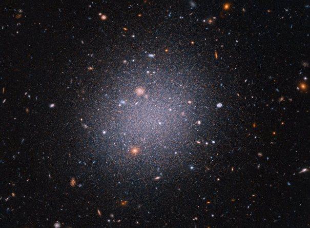 прозрачная галактика