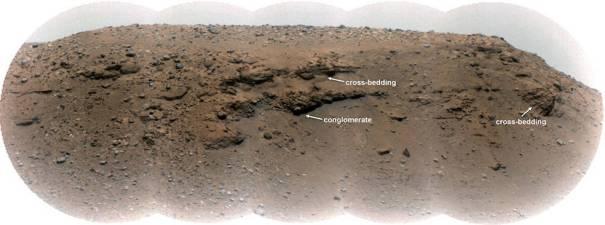 Дельта Скарпа кратера Джезеро