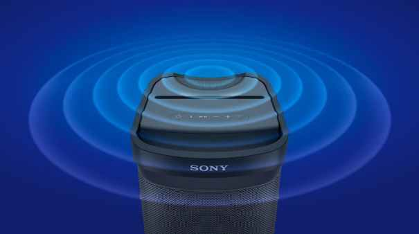 Sony представила три беспроводные колонки X-Series