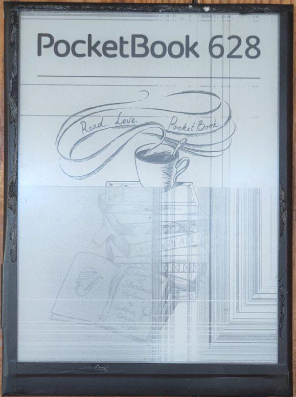 PocketBook 628 оказался с очень хрупким экраном