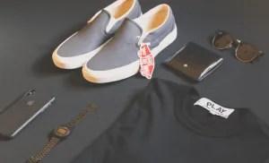 derecho de marcas de ropa y otros elementos con etiquetas