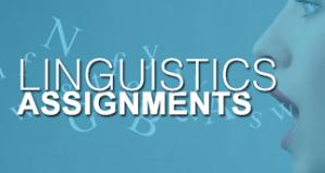 linguistics assignment help