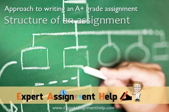 Structure your assignment 550 × 372