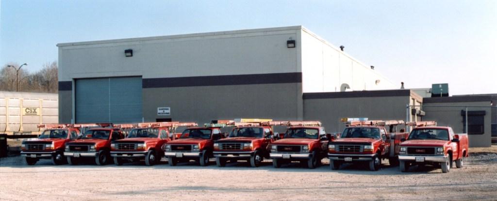 Expert Crane truck shot