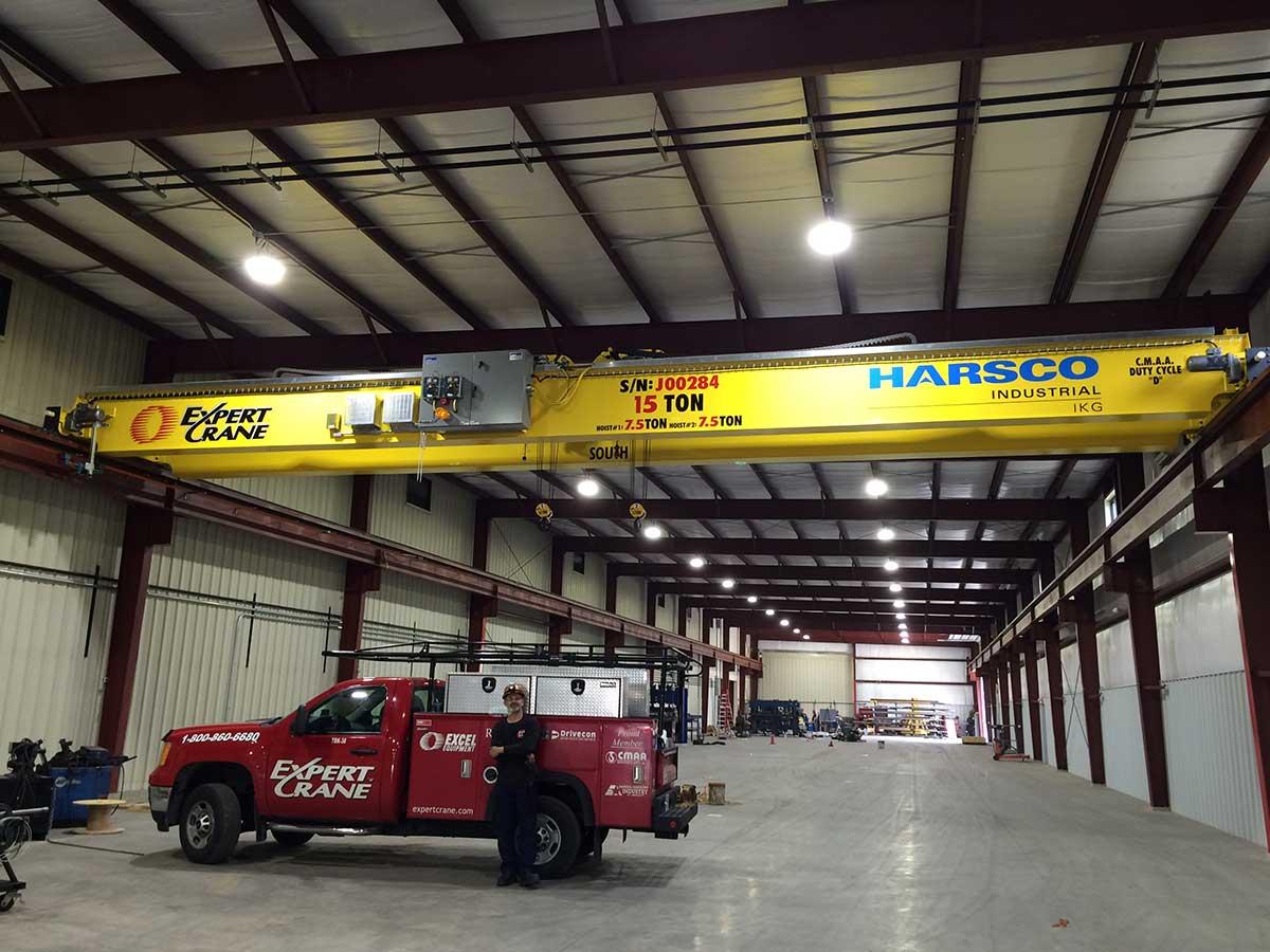 Expert Crane 15-ton crane