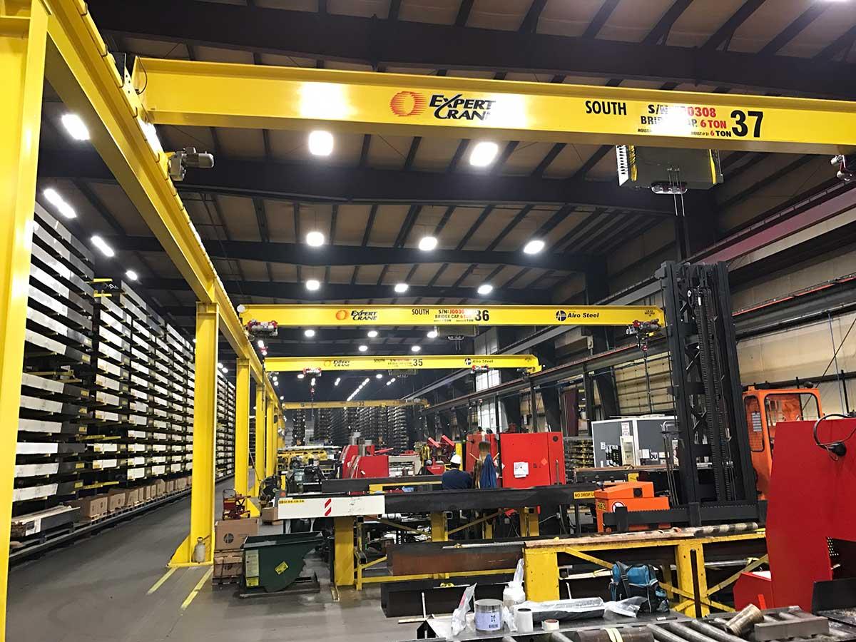 Expert Crane workspace