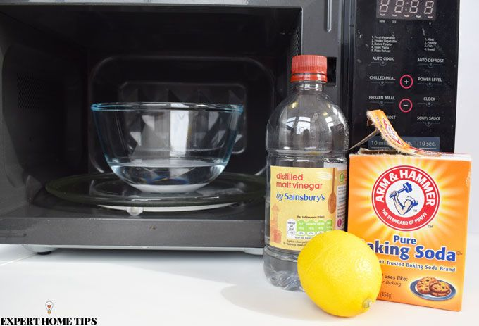 how to clean a microwave top 3 methods