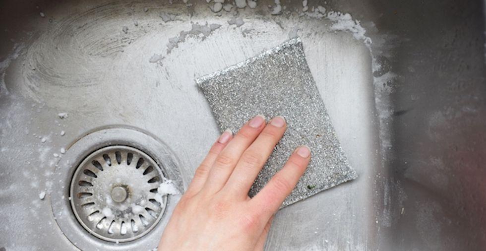 kitchen sink sparkling