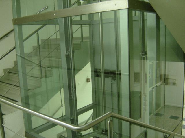 панорамен асансьор