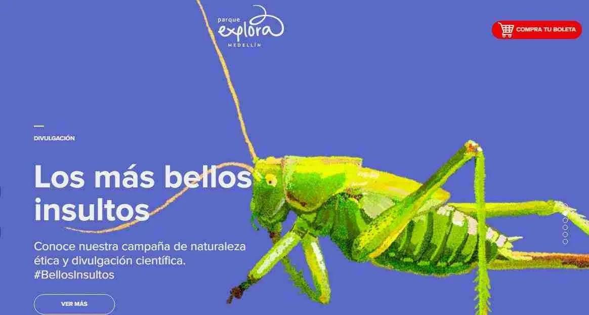 Imagen tomada de la pagina web del Parque Explora Medellín