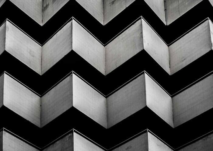 Black and white abstract architectural photo - great tips for photography for beginners
