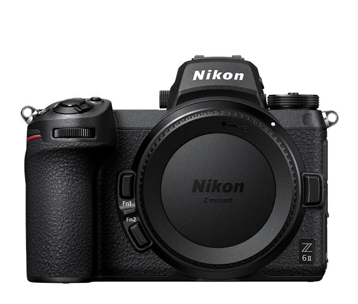 An image of a Nikon Z6 II mirrorless camera