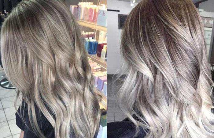 Пепельно-русый цвет волос: фото оттенков (светло-, темно ...