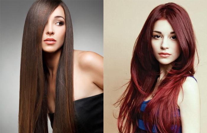 Шатенка: это какой цвет волос, фото оттенков (светлый ...