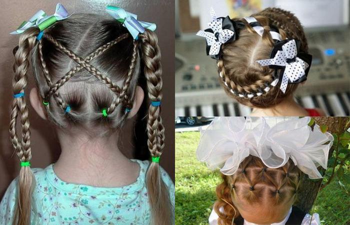 Прически на 1 сентября для девочек: красивые идеи и фото ...