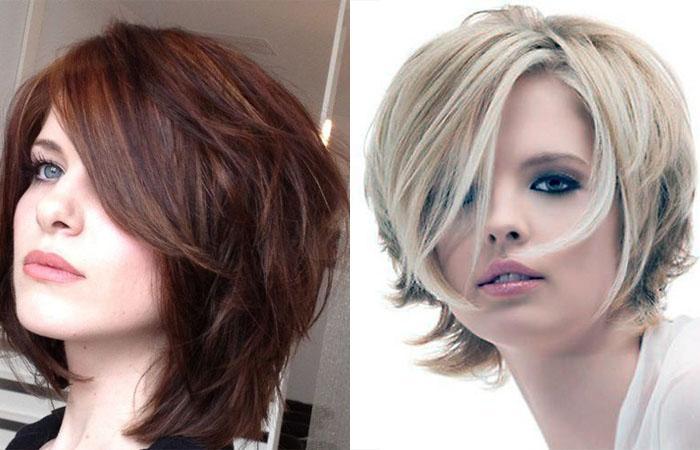 Стрижка каскад на короткие волосы для разных типов ...