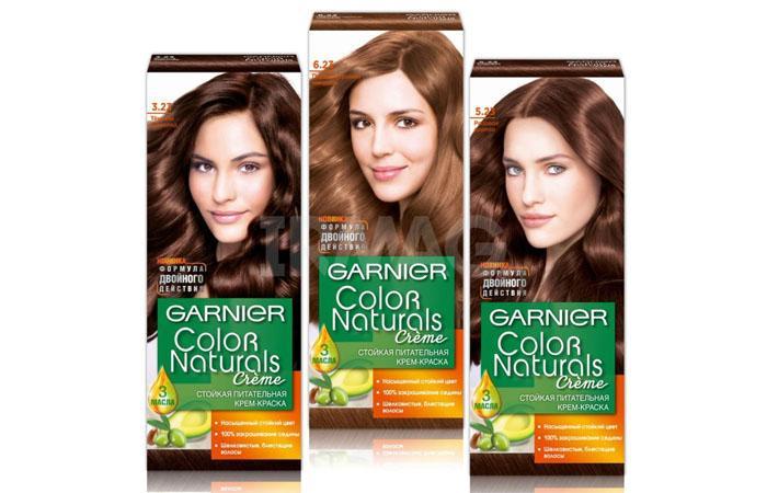 Гарньер краска для волос: палитра цветов, фото всех ...