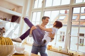happy couple living together not married istock copy