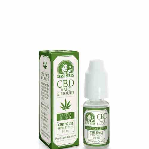 Sensi Seeds CBD E-Liquid - 50mg