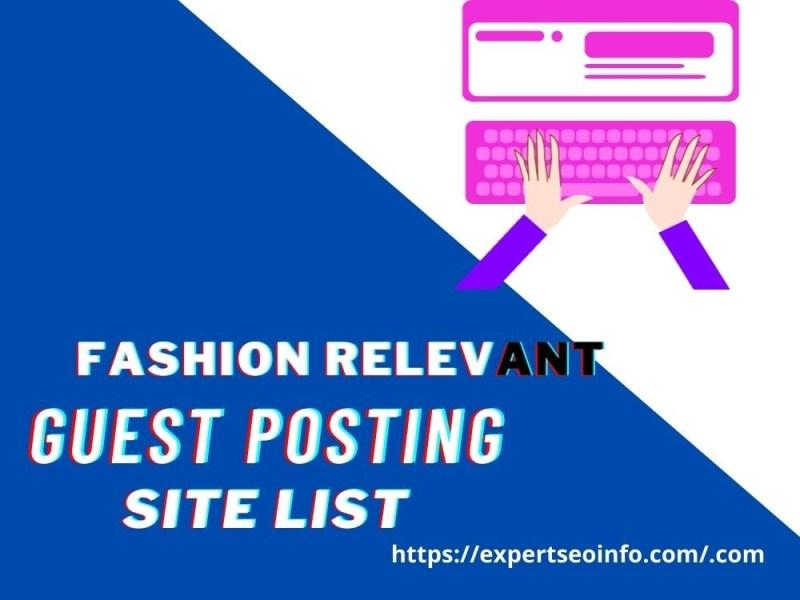 fashion guest posting site list