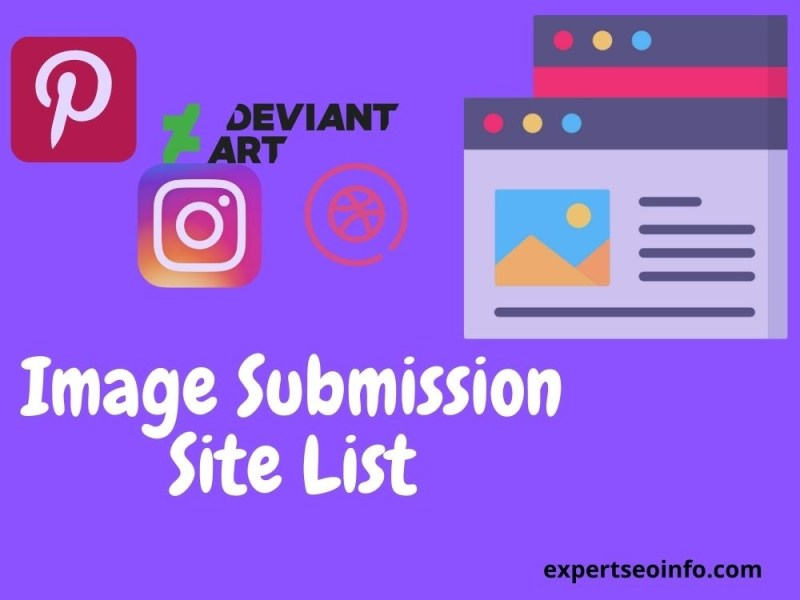 Image Submission Site list