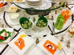 Emirates Lounge AKL food 1