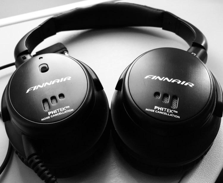 Finnair headphones