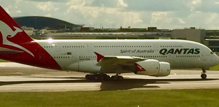 Ren Qantas A380