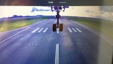 landing camera