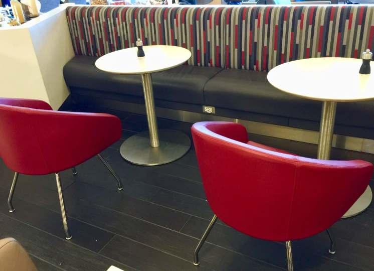 AA-Flagship-Lounge-buffet-seating-round-world-trip