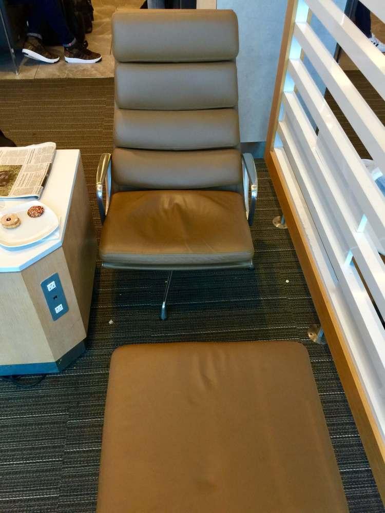 AA-Flagship-Lounge-recliner-seats-tarmac-views-round-world-trip