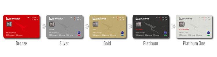 Qantas FF Cards
