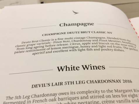 Cathay-Pacific-Business-Class-menu-champagne-round-world-trip