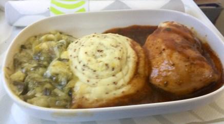Finnair-Paris-Helsinki-lunch-chicken-round-world-trip