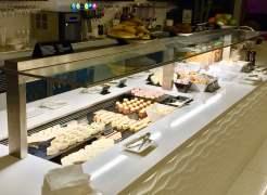 Air-New-Zealand-Lounge-Brisbane-buffet-view