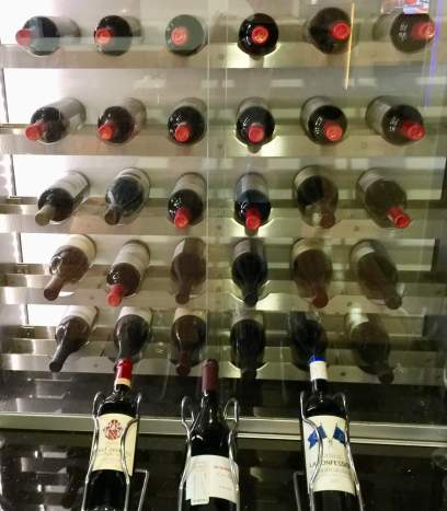BA-First-Lounge-Heathrow-red-wine-selection