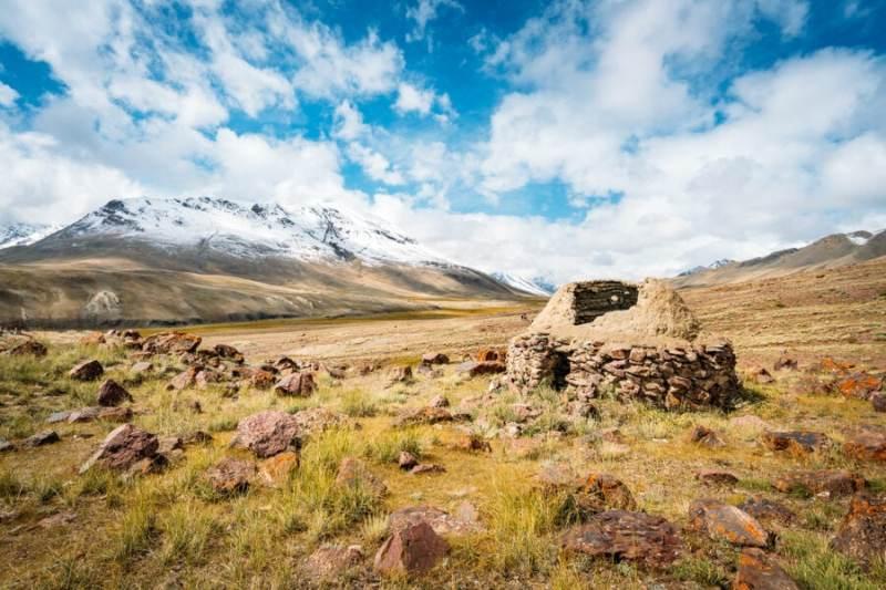 Ancient Silk Road in Afghanistan