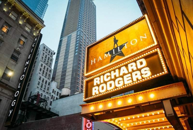 Hamilton Broadway Sign