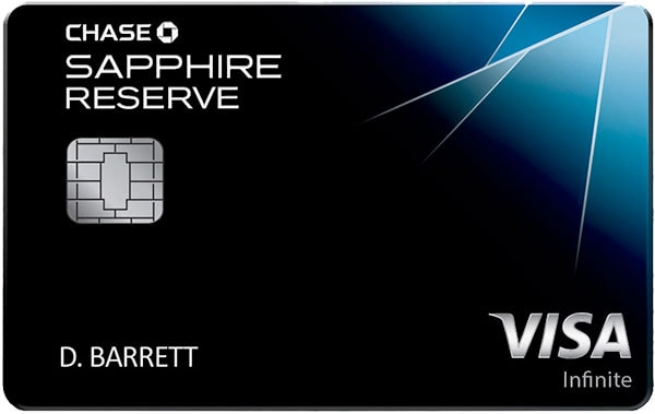 Travel Credit Card: Chase Sapphire Reserve