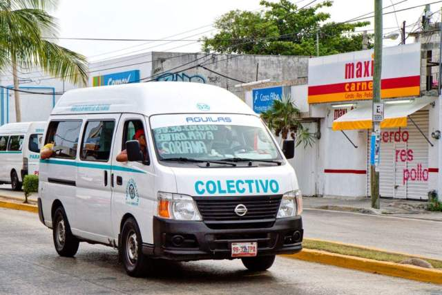 Colectivo in Playa Del Carmen